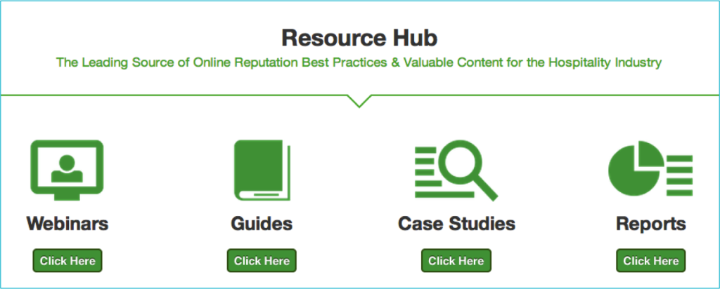 ReviewPro's Resource Hub - Reknown Hospitality Marketing