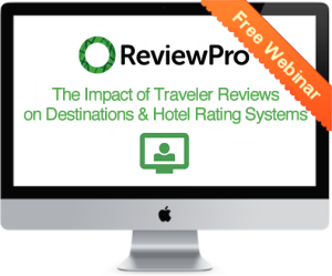 Destinations and Hotel Rating Systems - ReviewPro Reknown Webinar