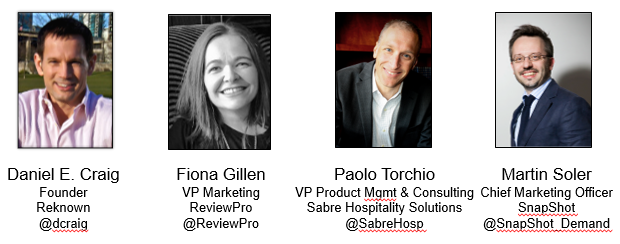 ReviewPro - Reknown Webinar Panelists - Big Data for Hotels
