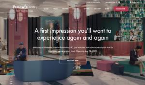 Versante Hotel Website